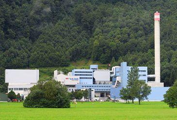 Завод по переработке мусорных отходов KVA Linth
